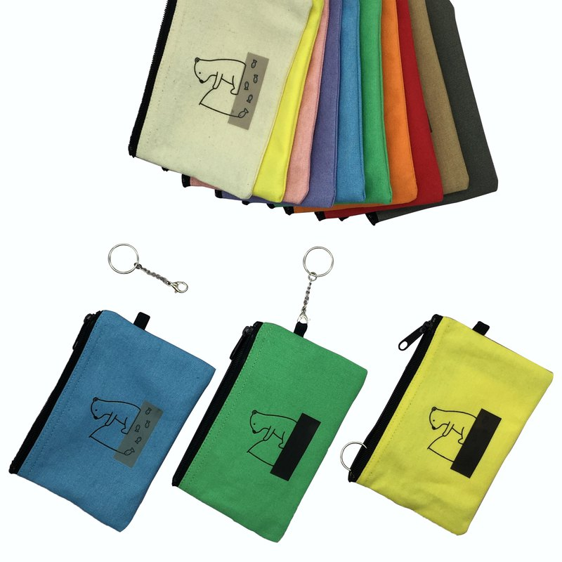 YCCT Key Purse - Polar Bear - Three Ways to Use to Meet Multiple Possibilities