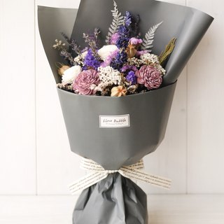 Strong purple bouquet (Valentine's graduation bouquet)