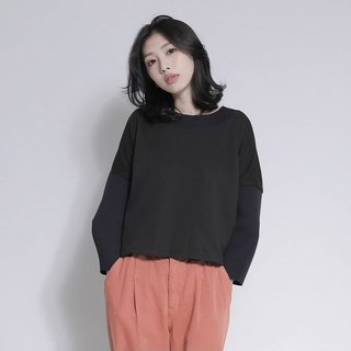 Metaphysics Metascopic Stereo Crop Top_7AF001_Black