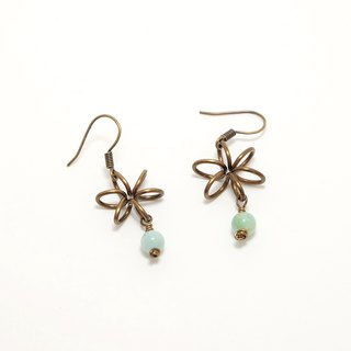 . Summer Series. Something New Amazonite Amazonite earrings green