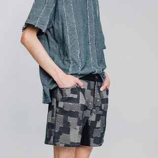 Alan Hu 2018S/S Decorating Shorts