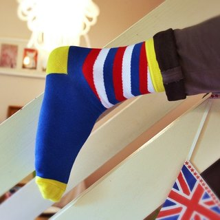 Men's Socks - Barber Shop, British Design for the Modern Gentleman