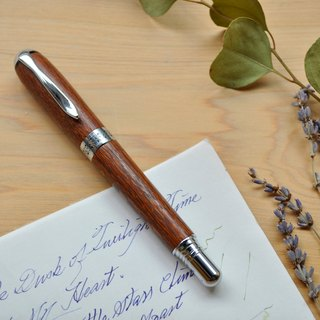 Textured wooden pen Queensland Banksia wood / wood lace / rare wood species