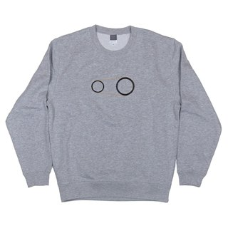 Unisex gear embroidery sweat Tcollector