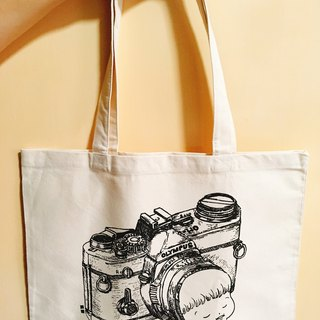 Fat sister camera canvas bag