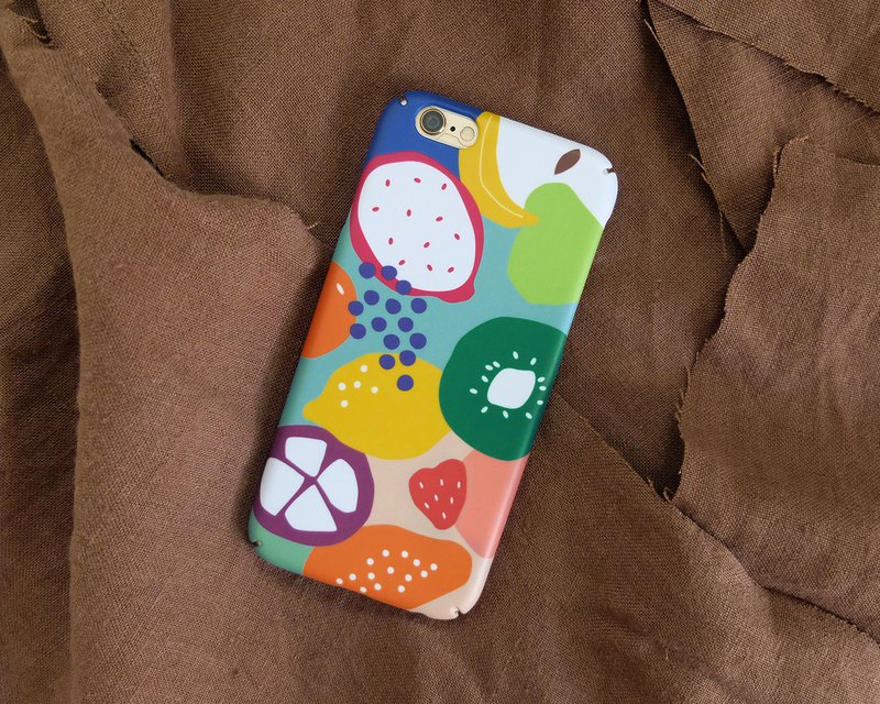 Abstract Fruits iPhone case / Samsung Galaxy case 手機殼