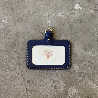 [Mini5] Horizontal identification card / (excluding neck rope / sling) can be purchased separately (blue)