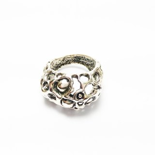 Sea landscape. 925 Silver Ring