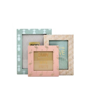 Pastel Collection - 3 Photo Frames