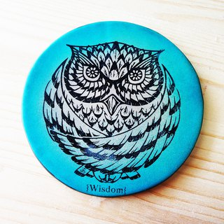 Winter Animals - Wisdom Owl Coaster (1 in)