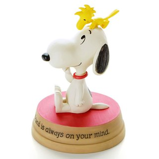 Snoopy Hand-Sculpture - Friendship [Hallmark-Peanuts Handicrafts]