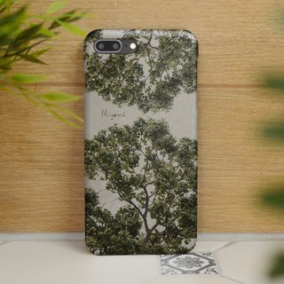 2 sides natural tree iphone case สำหรับ iphone7 iphone8, iphone8 plus ,iphonex