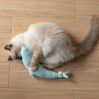 Pidan catnip dolphins toy pink