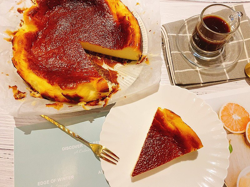 新品上市-焦香烤起士8吋#香濃細緻#濃郁起士
