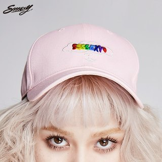 SSSSEXY I am a rabbit baseball cap (pink)