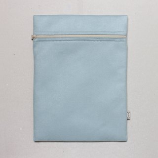 Notebook set simple and stylish 12.5 吋 pen electric sleeve A4 file bag - Ice Lake Blue