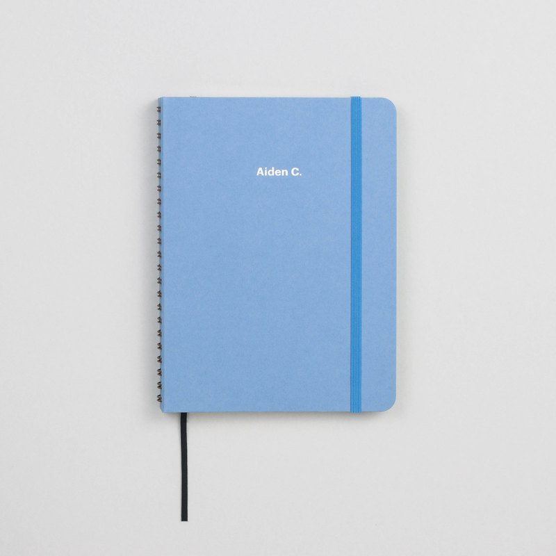Plain Powder Blue A5 Notebook / Sketchbook