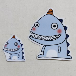 Waterproof sticker (large)_Little Dinosaur 03