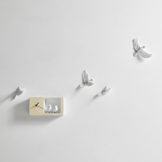 Haoshi_Sparrow clock Sparrow Clock - Color Edition / Light Yellow