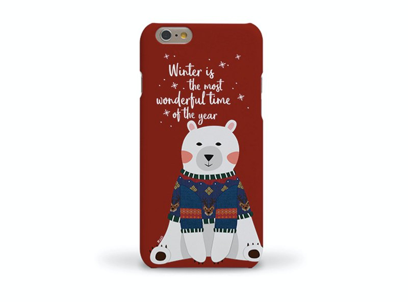 Korean top paint mobile phone case (I love winter 2) iXS MAX XS i8+Note9Note8 S9+S8