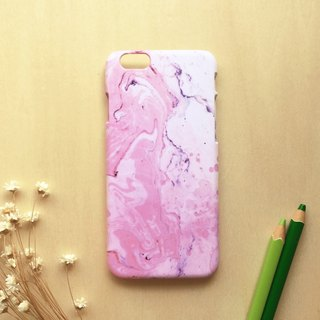 Strawberry milk marbling . Matte Case( iPhone, HTC, Samsung, Sony, LG, OPPO)