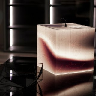 Light Up Your Night Light Cube Lamp by UNIQCUBE