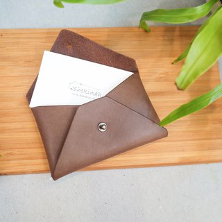 Minimalist envelope card holder