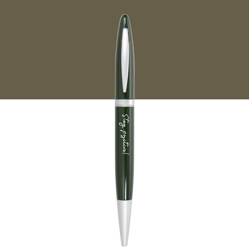 (with lettering) ARTEX life happy ball pen StayPositive
