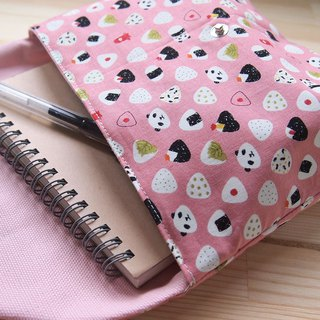 Rice ball panda cosmetic bag cute pen bag storage file camera bag