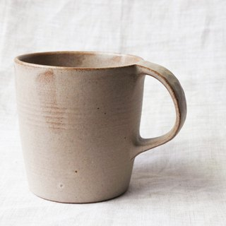Light brown glaze mug