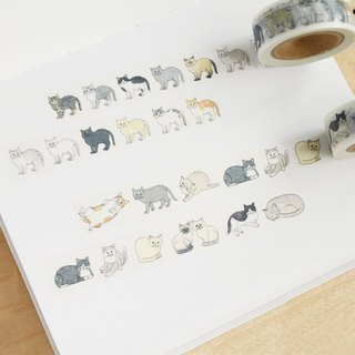 """Christmas / cat / DIY Handmade / birthday gift"" ayaco and paper tape: cat 1-2 Pack (set of two volumes)"