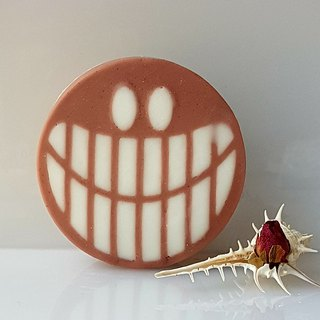 Big Smile Smiley Face - handmade soap