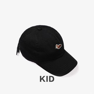 KIDS Duck Embroidered Outdoor Casual Cap::Black::