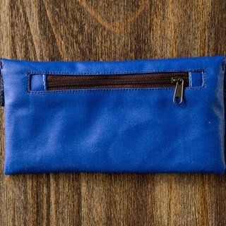 Macaron colored Wallet-Royal Blue
