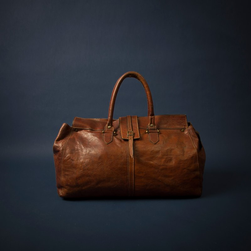 The Bridge Caramel Italian Leather Bag Handbag Italy Top Brand Vintage