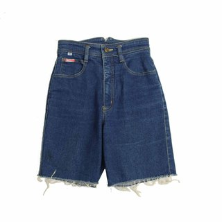 Tsubasa.Y Vintage Blue Hauaer004, Denim Shorts Denim Shorts