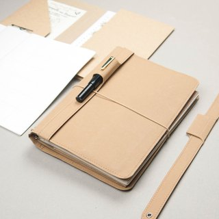 6 pcs  A5 notebook set- hazel