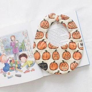 American pumpkin X dot cotton eight layer yarn mouth towel scarf bib pocket round pocket