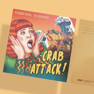 Crab's Counterattack - Postcard