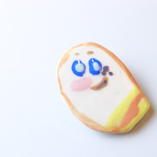 Caterpillar Sun children's ceramic badge unique safety pin brooch badge badge jewelry cute pin kignjun