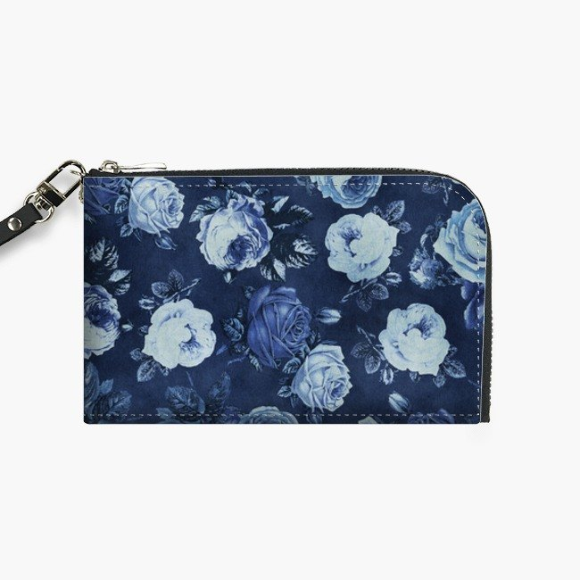 Snupped Isotope - Phone Pouch - Midnight Floral