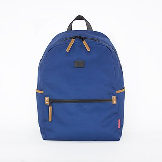 Super Light Oxford Nylon Backpack / Blue