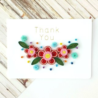 Hand made decorative cards-flower