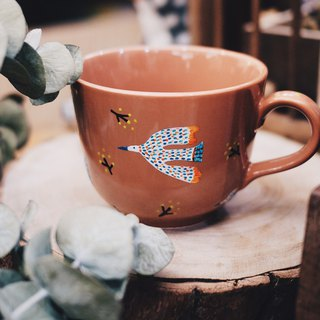 Three Little Birds tea cup