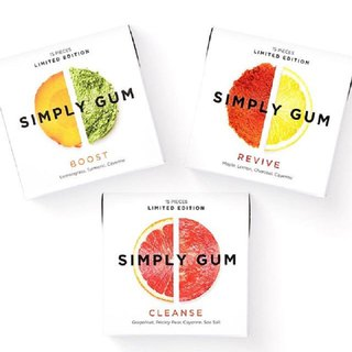 Simply Gum Manton Pure Natural Handmade Fashion Chewing Gum