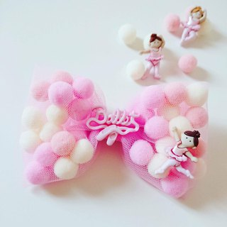 Bonbon Baby Candy Ball Handmade Hairpin_ Ballet Limited Edition
