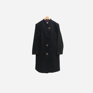 Discolored Vintage / Plain Black Coat no.292 vintage