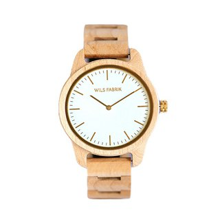 WILS FABRIK - Vegan - Maple Wood Watch