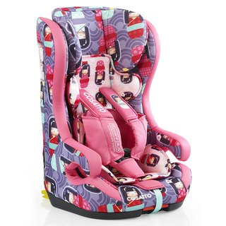 英國 Cosatto Hubbub Group 123 Isofix 汽車安全座椅 –  Kokeshi Smile (5 point plus)