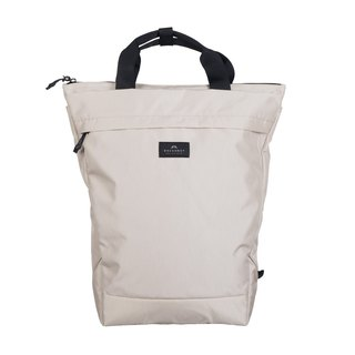 Doughnut Black Line Water Repellent Creator Backpack - Too Blank (including oversized house)